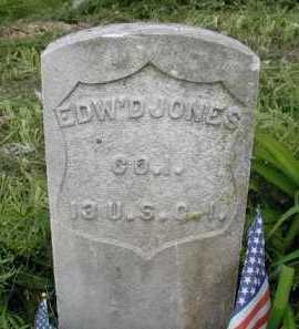 JONES, EDWARD - Douglas County, Nebraska | EDWARD JONES - Nebraska Gravestone Photos
