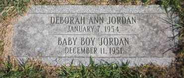 JORDAN, DEBORAH ANN - Douglas County, Nebraska | DEBORAH ANN JORDAN - Nebraska Gravestone Photos
