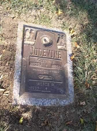 JUDEVINE, ALICE M. - Douglas County, Nebraska   ALICE M. JUDEVINE - Nebraska Gravestone Photos