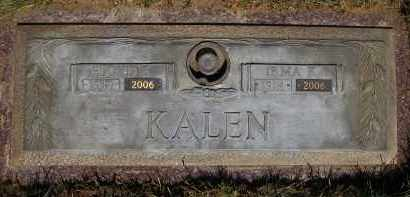 HENDERSON KALEN, IRMA K. - Douglas County, Nebraska | IRMA K. HENDERSON KALEN - Nebraska Gravestone Photos