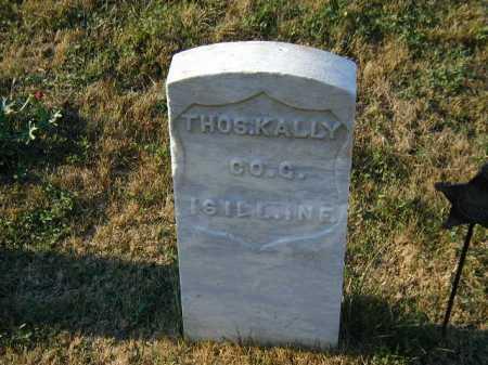 KALLY, THOS. - Douglas County, Nebraska | THOS. KALLY - Nebraska Gravestone Photos