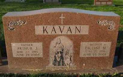 KAVAN, PAULINE M. - Douglas County, Nebraska | PAULINE M. KAVAN - Nebraska Gravestone Photos