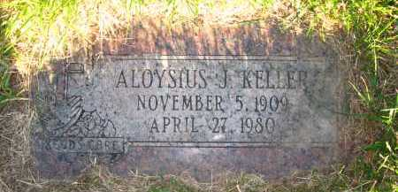 KELLER, ALOYSIUS J. - Douglas County, Nebraska   ALOYSIUS J. KELLER - Nebraska Gravestone Photos