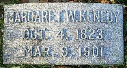 WOODNEY KENEDY, MARGARET - Douglas County, Nebraska   MARGARET WOODNEY KENEDY - Nebraska Gravestone Photos