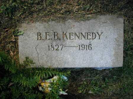 KENNEDY, B. E. B. - Douglas County, Nebraska | B. E. B. KENNEDY - Nebraska Gravestone Photos
