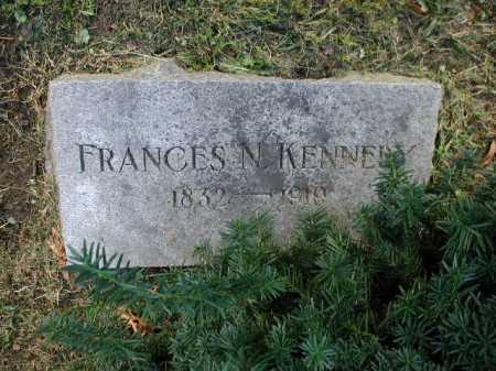 KENNEDY, FRANCES N. - Douglas County, Nebraska | FRANCES N. KENNEDY - Nebraska Gravestone Photos