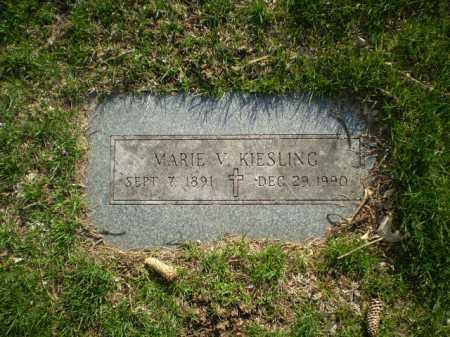 KIESLING, MARIE V. - Douglas County, Nebraska | MARIE V. KIESLING - Nebraska Gravestone Photos