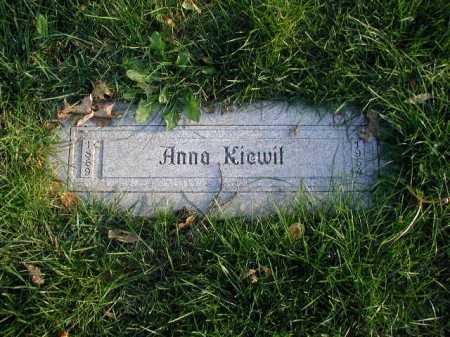 KIEWIT, ANNA - Douglas County, Nebraska | ANNA KIEWIT - Nebraska Gravestone Photos