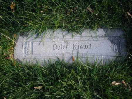 KIEWIT, PETER - Douglas County, Nebraska | PETER KIEWIT - Nebraska Gravestone Photos