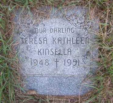KINSELLA, TERESA KATHLEEN - Douglas County, Nebraska | TERESA KATHLEEN KINSELLA - Nebraska Gravestone Photos