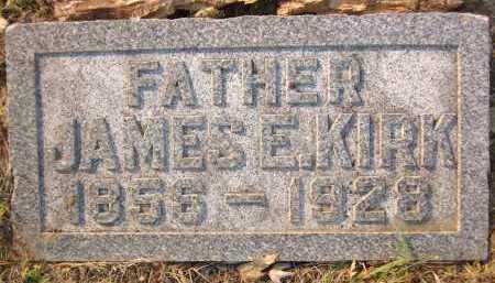 KIRK, JAMES E. - Douglas County, Nebraska | JAMES E. KIRK - Nebraska Gravestone Photos