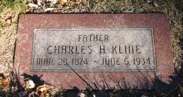 KLINE, CHARLES H. - Douglas County, Nebraska | CHARLES H. KLINE - Nebraska Gravestone Photos