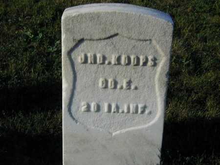 KOOPS, JOHN - Douglas County, Nebraska   JOHN KOOPS - Nebraska Gravestone Photos