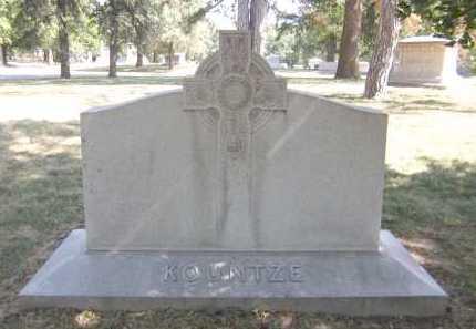KOUNTZE, FAMILY - Douglas County, Nebraska | FAMILY KOUNTZE - Nebraska Gravestone Photos