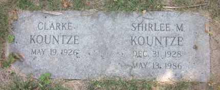 KOUNTZE, SHIRLEE M. - Douglas County, Nebraska | SHIRLEE M. KOUNTZE - Nebraska Gravestone Photos
