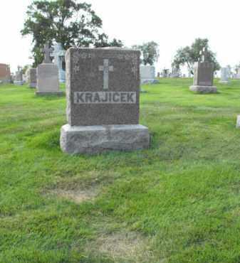 KRAJICEK, MONUMENT - Douglas County, Nebraska   MONUMENT KRAJICEK - Nebraska Gravestone Photos