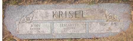 KRISEL, JOHN - Douglas County, Nebraska | JOHN KRISEL - Nebraska Gravestone Photos