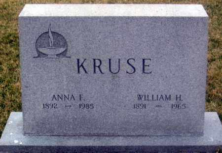 KRUSE, ANNA F. - Douglas County, Nebraska | ANNA F. KRUSE - Nebraska Gravestone Photos