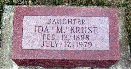 KRUSE, IDA M. - Douglas County, Nebraska | IDA M. KRUSE - Nebraska Gravestone Photos