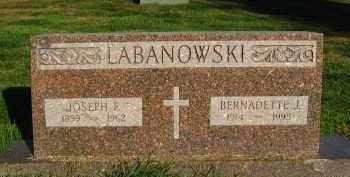 LABANOWSKI, JOSEPH E - Douglas County, Nebraska | JOSEPH E LABANOWSKI - Nebraska Gravestone Photos