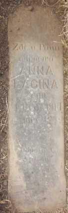 LACINA, ANNA - Douglas County, Nebraska   ANNA LACINA - Nebraska Gravestone Photos