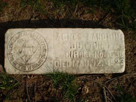 LANDRUM, AGNES - Douglas County, Nebraska | AGNES LANDRUM - Nebraska Gravestone Photos