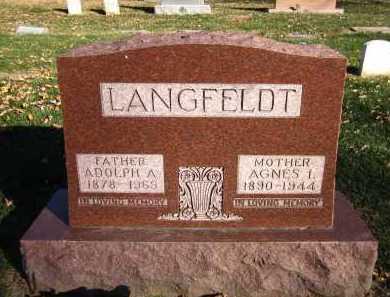 LANGFELDT, ADOLPH A. - Douglas County, Nebraska | ADOLPH A. LANGFELDT - Nebraska Gravestone Photos