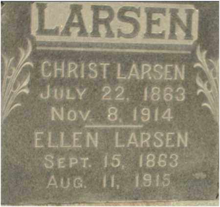 LARSEN, ELLEN - Douglas County, Nebraska | ELLEN LARSEN - Nebraska Gravestone Photos