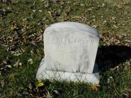 LARSEN, EARL - Douglas County, Nebraska | EARL LARSEN - Nebraska Gravestone Photos