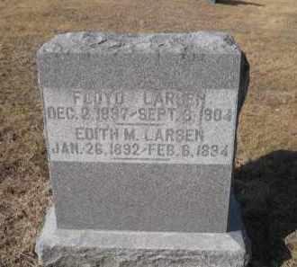 LARSEN, FLOYD - Douglas County, Nebraska | FLOYD LARSEN - Nebraska Gravestone Photos