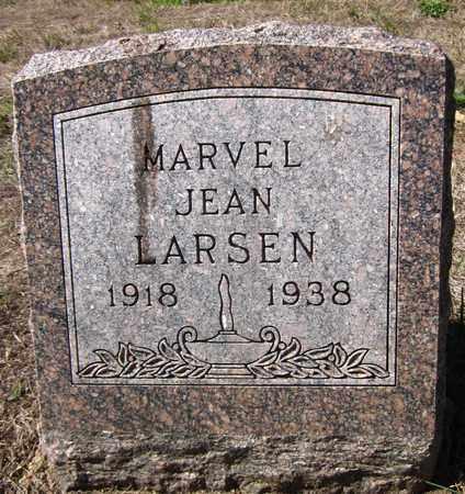 LARSEN, MARVEL JEAN - Douglas County, Nebraska   MARVEL JEAN LARSEN - Nebraska Gravestone Photos