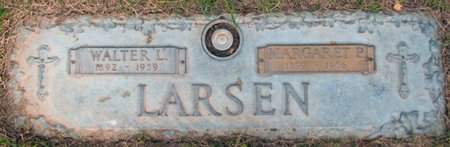 LARSEN, WALTER L. - Douglas County, Nebraska   WALTER L. LARSEN - Nebraska Gravestone Photos