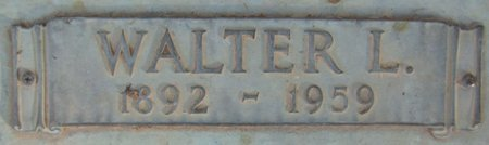 LARSEN, WALTER L. (CLOSE UP) - Douglas County, Nebraska | WALTER L. (CLOSE UP) LARSEN - Nebraska Gravestone Photos