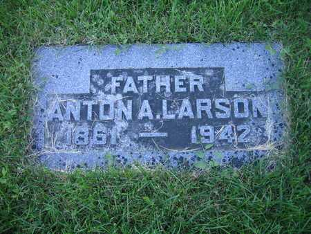 LARSON, ANTHONY A - Douglas County, Nebraska | ANTHONY A LARSON - Nebraska Gravestone Photos