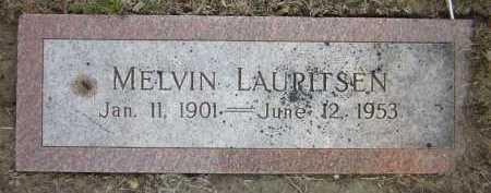 LAURITSEN,, MELVIN - Douglas County, Nebraska | MELVIN LAURITSEN, - Nebraska Gravestone Photos