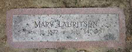 LAURITSEN, MARY - Douglas County, Nebraska | MARY LAURITSEN - Nebraska Gravestone Photos