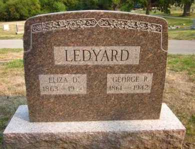 LEDYARD, GEORGE R. - Douglas County, Nebraska | GEORGE R. LEDYARD - Nebraska Gravestone Photos