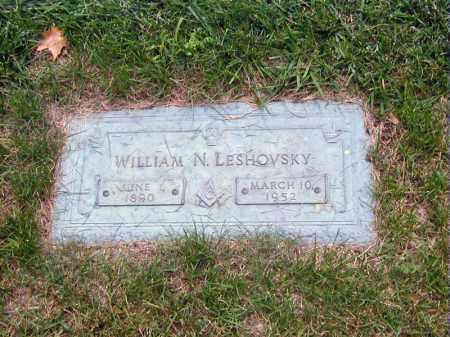 LESHOVSKY, WILLIAM - Douglas County, Nebraska | WILLIAM LESHOVSKY - Nebraska Gravestone Photos