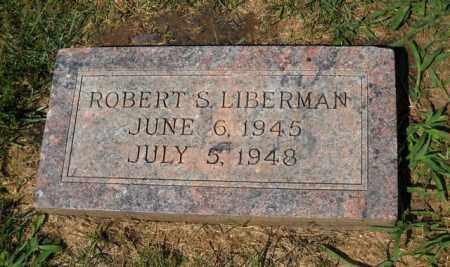 LIBERMAN, ROBERT S - Douglas County, Nebraska | ROBERT S LIBERMAN - Nebraska Gravestone Photos