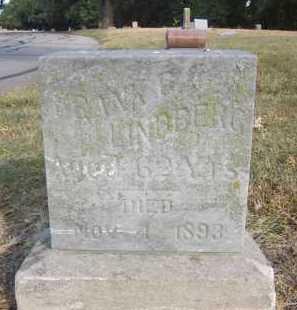 LINDBERG, FRANK G. - Douglas County, Nebraska   FRANK G. LINDBERG - Nebraska Gravestone Photos