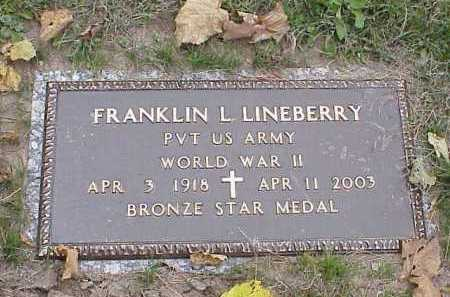 "LINEBERRY, FRANKLIN LEROY ""ROY"" - Douglas County, Nebraska | FRANKLIN LEROY ""ROY"" LINEBERRY - Nebraska Gravestone Photos"