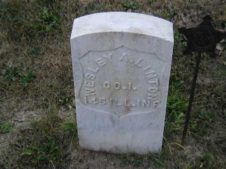 LINTON, WESLEY A - Douglas County, Nebraska | WESLEY A LINTON - Nebraska Gravestone Photos