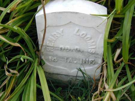 LOOMIS, HENRY - Douglas County, Nebraska   HENRY LOOMIS - Nebraska Gravestone Photos