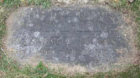LOOMIS, ALEXANDER C. - Douglas County, Nebraska | ALEXANDER C. LOOMIS - Nebraska Gravestone Photos