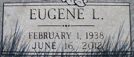 LORENCE, EUGENE L. (CLOSE UP) - Douglas County, Nebraska | EUGENE L. (CLOSE UP) LORENCE - Nebraska Gravestone Photos