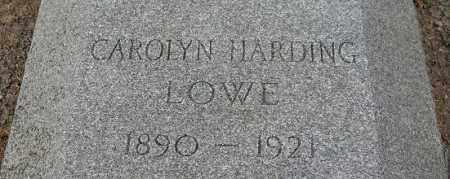 HARDING LOWE, CAROLYN - Douglas County, Nebraska   CAROLYN HARDING LOWE - Nebraska Gravestone Photos