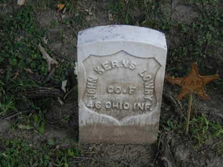 LOWRY, JOHN KERNS - Douglas County, Nebraska | JOHN KERNS LOWRY - Nebraska Gravestone Photos