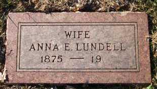 LUNDELL, ANNA E. - Douglas County, Nebraska   ANNA E. LUNDELL - Nebraska Gravestone Photos