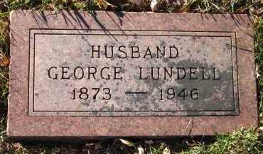LUNDELL, GEORGE - Douglas County, Nebraska | GEORGE LUNDELL - Nebraska Gravestone Photos