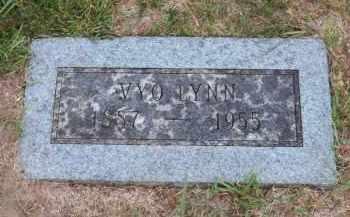 LYNN, VYO - Douglas County, Nebraska | VYO LYNN - Nebraska Gravestone Photos